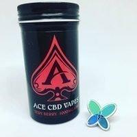 Ace CBD Vape – Very Berry Flavour (100mg – 1000mg)