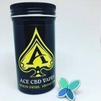 Ace CBD Vape – Lemon Swirl Flavour (100mg – 1000mg)