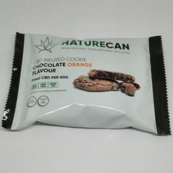 NatureCan – CBD infused Chocolate Orange Cookie