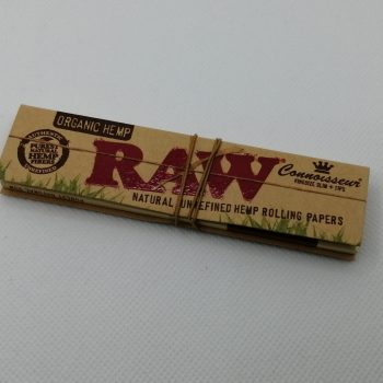 RAW Connoisseur Organic Hemp Papers